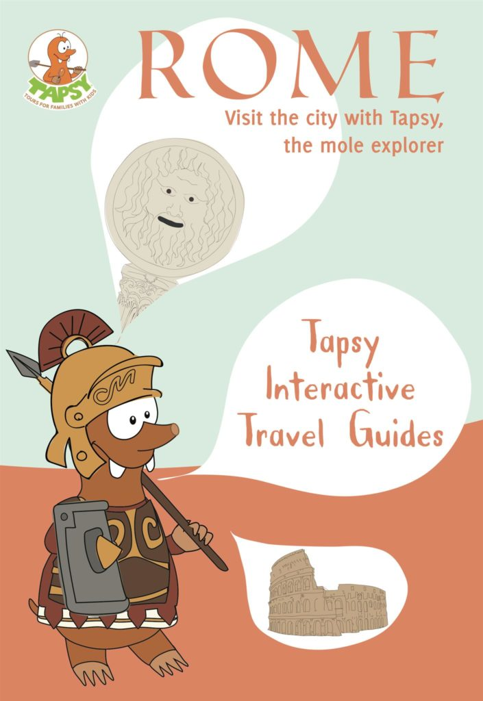 Interactive Travel Guide of Rome for families with kids