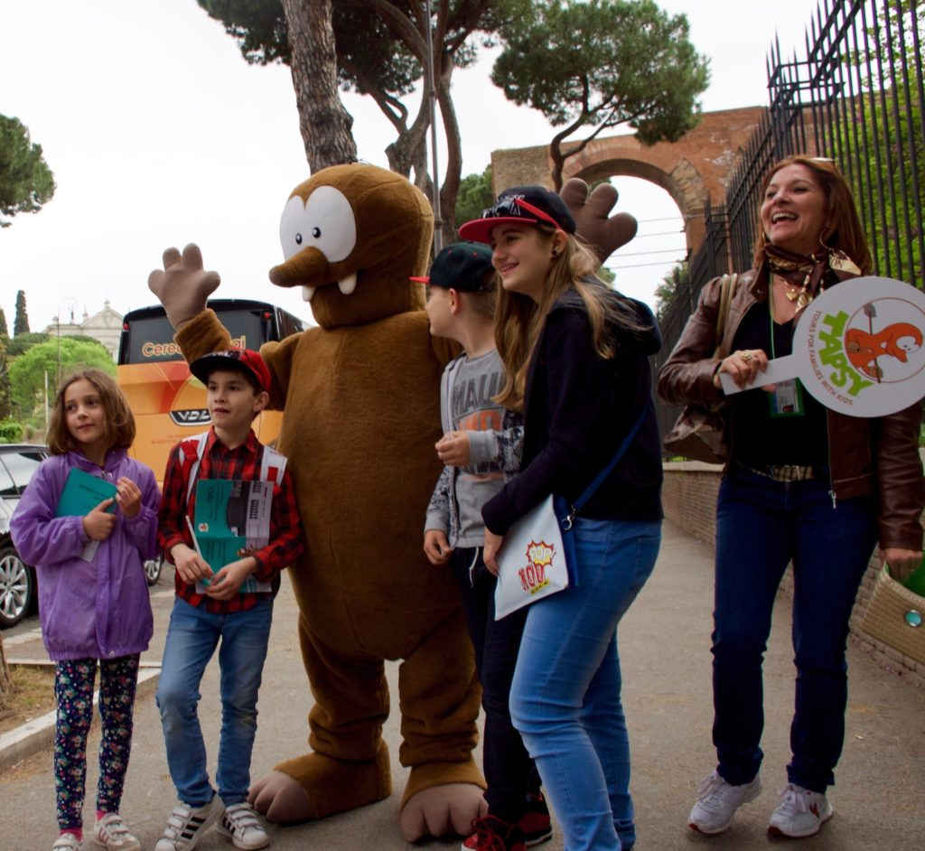 Rome with kids_Tapsy Tours for families with kids