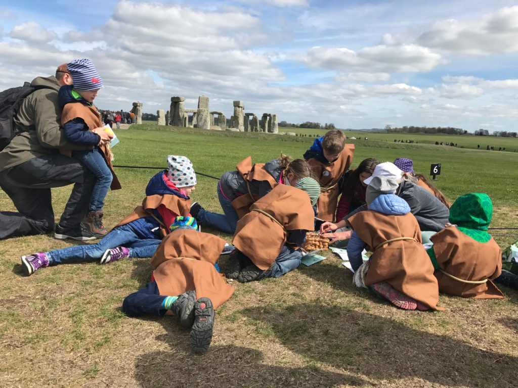 Stonehenge with kids_Tapsy Tours for families with kids