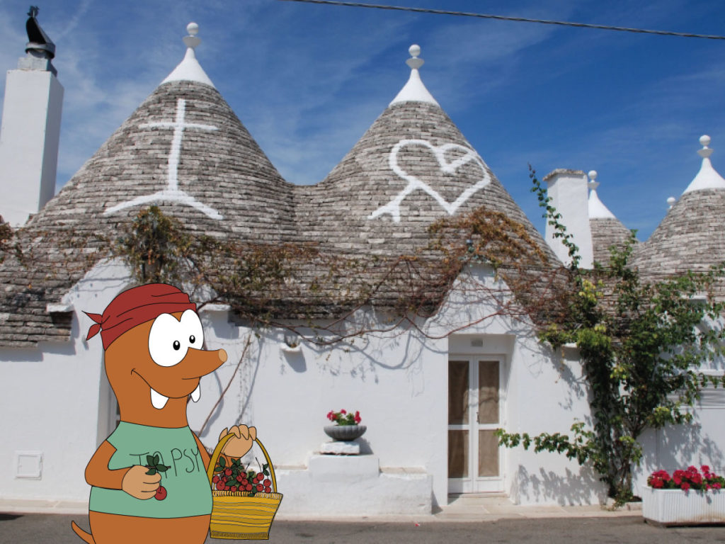 Southern Italy itinerary: the trulli houses of Alberobello