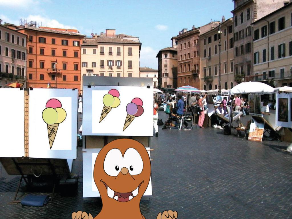 gelato piazza navona