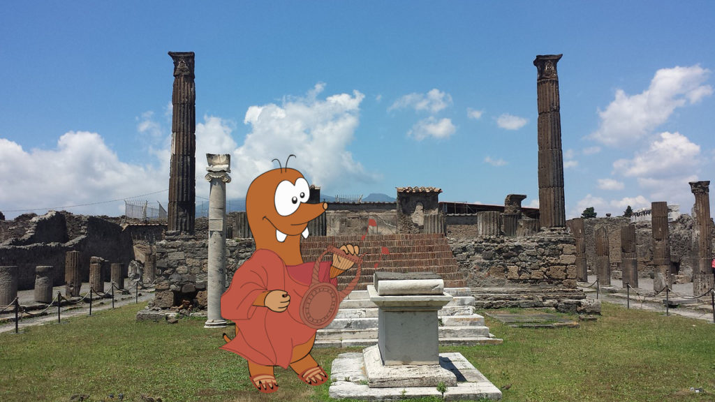 Visit Pompeii with kids: Tapsy Blog