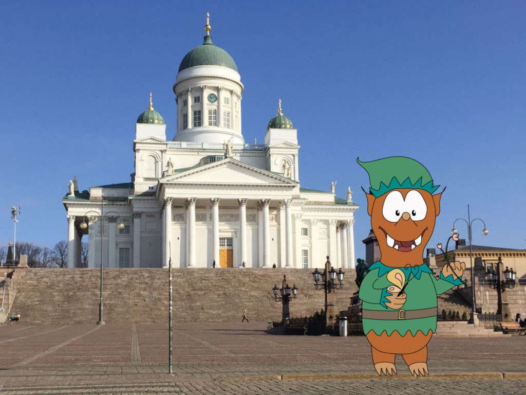 Helsinki cathedral with kids: Tapsy Tours