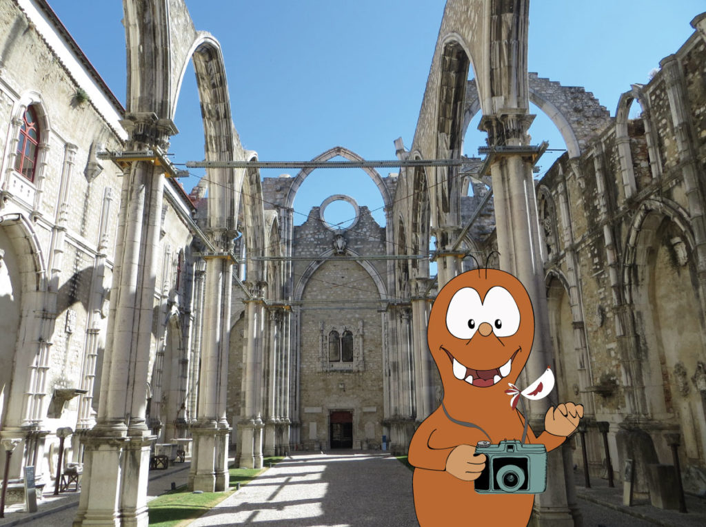 carmo convent ruins_Lisbon with kids_Tapsy Tours