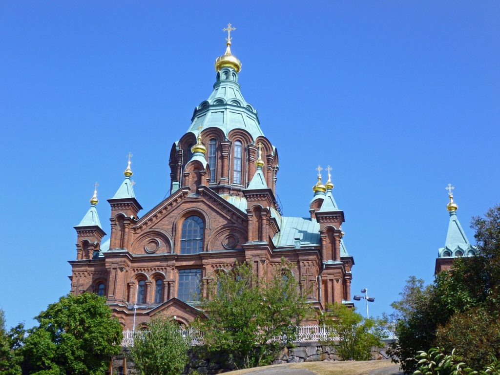 Uspenski Cathedral in Helsinki: Tapsy Blog