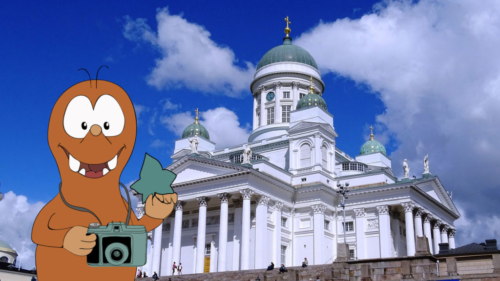Tapsy Tour of Helsinki with kids