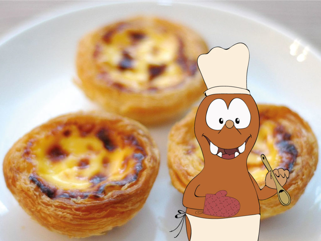 Pasteis de Nata on Tapsy Blog