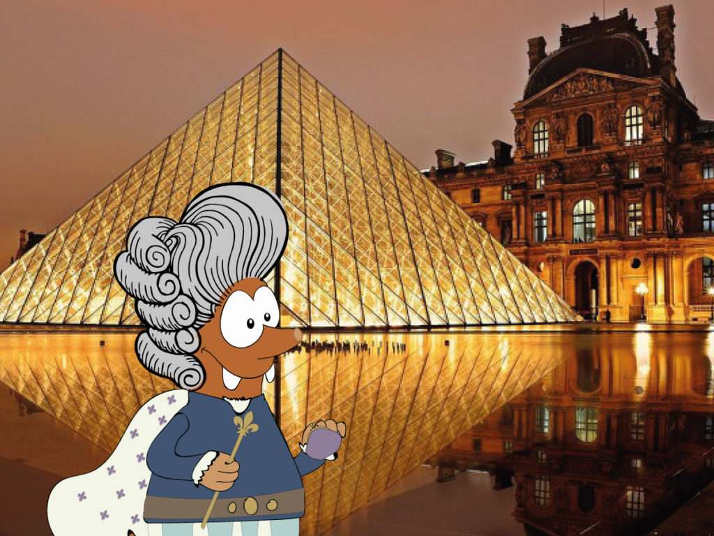 Louvre museum of Paris on Tapsy Blog