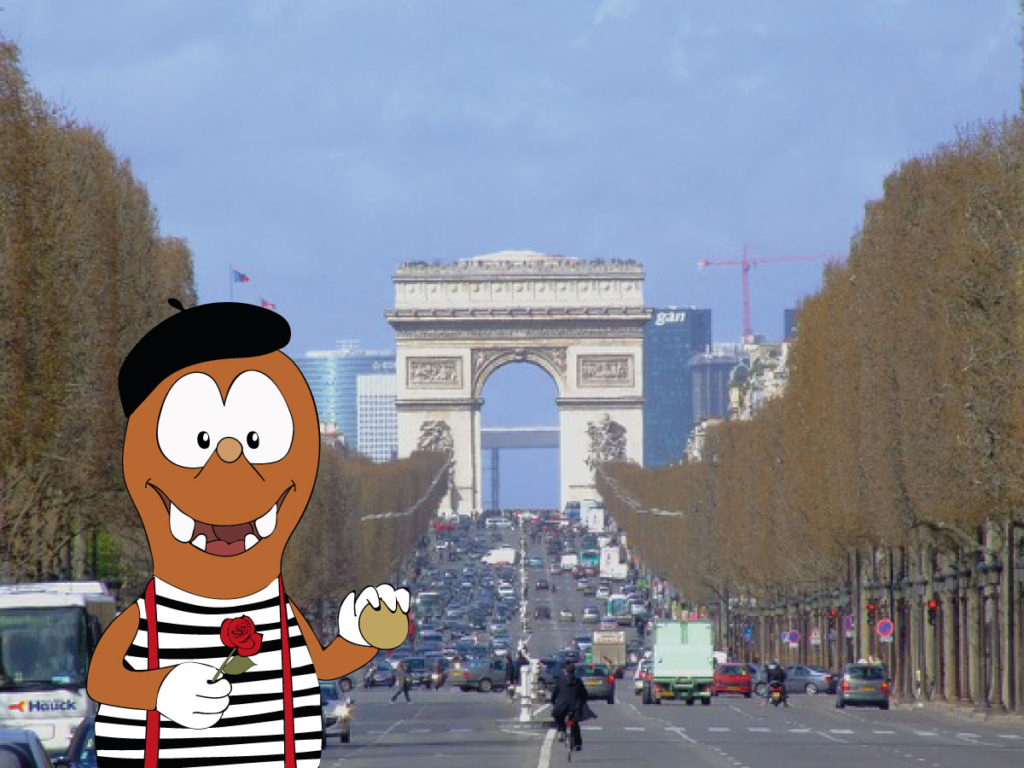 Tapsy Tour of Paris with kids: Champs Elysees