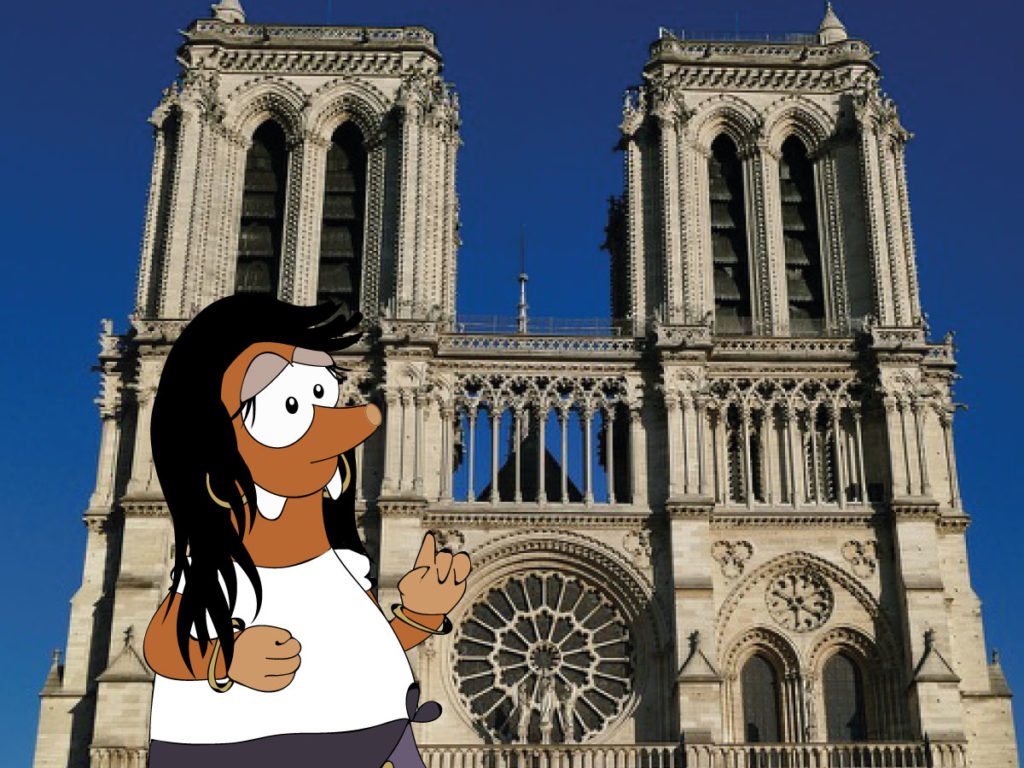 Notre Dame of Paris with Tapsy Tours for Families with Kids