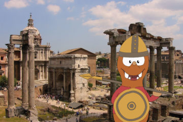 Fall in Rome with kids on Tapsy Blog