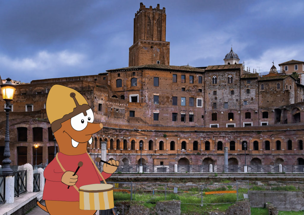 Tapsy's itinerary through the Roman Forum on Tapsy Blog