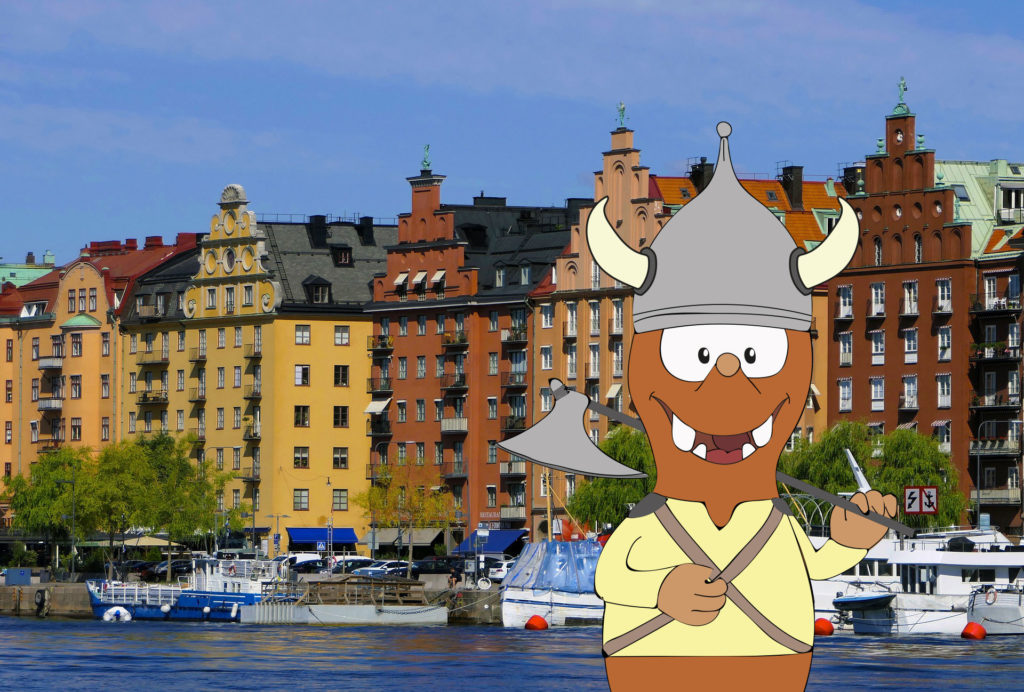 Tour of Stockholm with kids with Tapsy Tours for families with kids