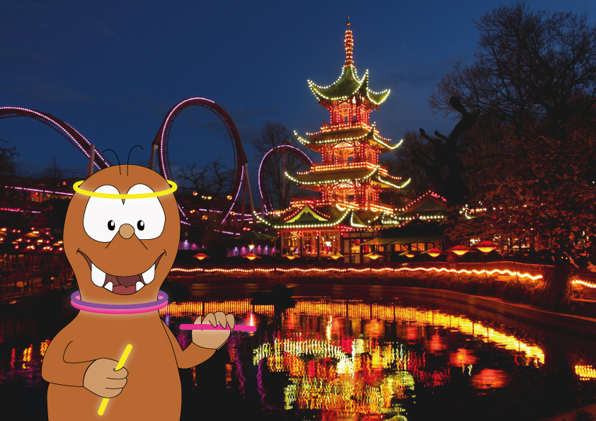 Tivoli gardens: the best amusement parks in Europe on Tapsy Blog