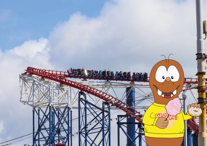 Pleasure Beach Blackpool: the best amusement parks in Europe on Tapsy Blog