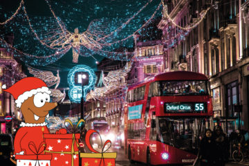 Christmas in London with kids on Tapsy Blog