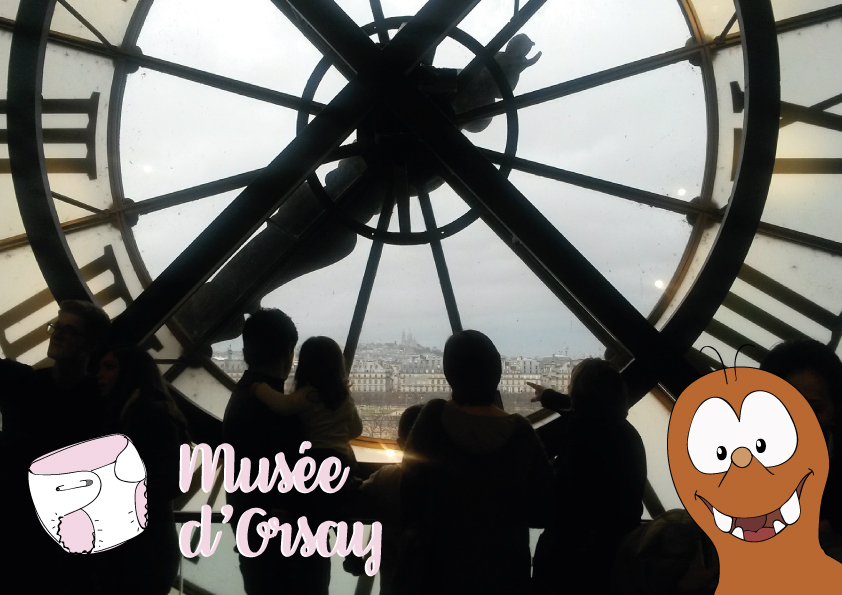 Baby changing facilities in Paris in the Musée d'Orsay_Tapsy Blog