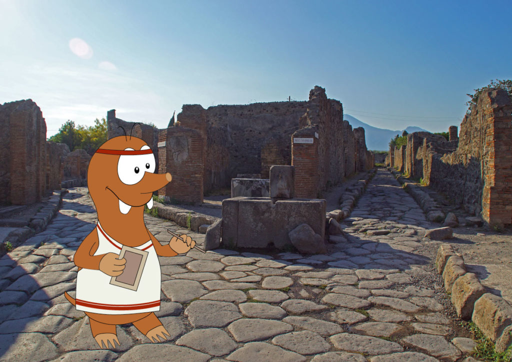 Family tour of Pompeii with kids on Tapsy Blog