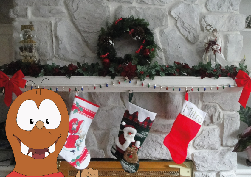 Socks on the chimney for la Befana Christmas tradition in Italy_Tapsy Blog