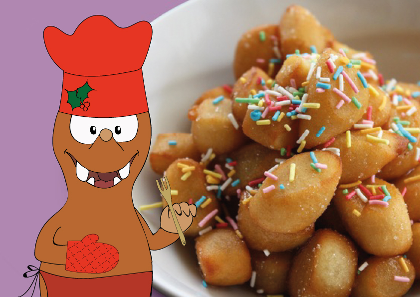 Italian Christmas recipes on Tapsy Blog: struffoli