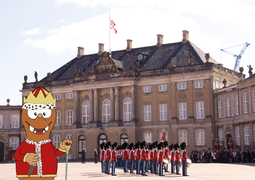 Amalienborg_Danish Royal family palace_Tapsy Tour of Copenhagen