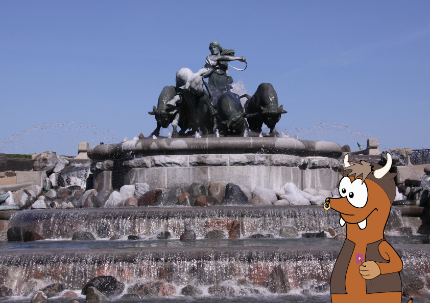 Gefion Fountain in Copenhagen with kids_Tapsy Tours for families with kids