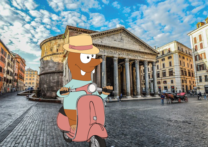Tapsy Tour of Rome with kids