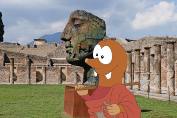Tour of Pompeii with kids on Tapsy Blog
