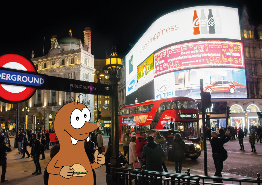child-friendly restaurant in Piccadilly Circus on Tapsy Blog