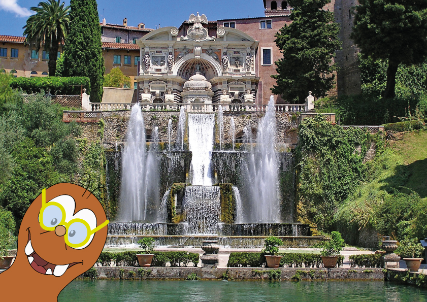 Villa D'este: places to visit near Rome with kids