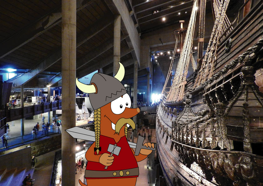 Best places to visit in Europe with kids_Vasa museum with kids_Tapsy Blog