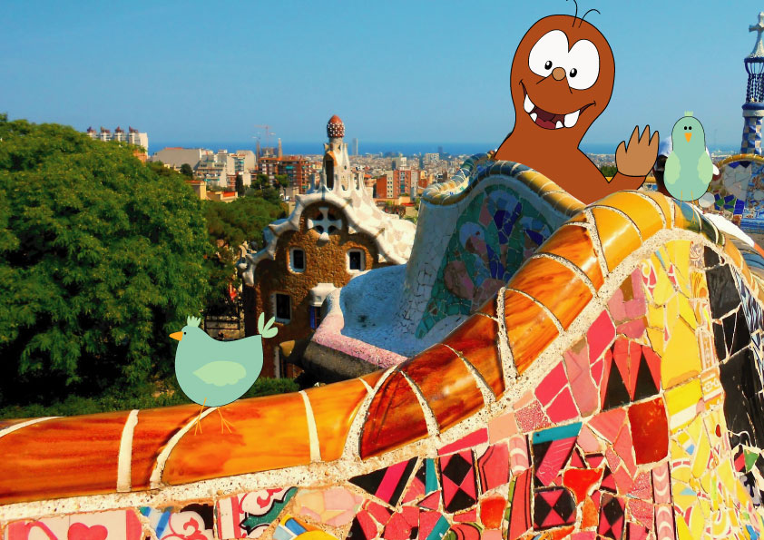 Best places to visit in Europe with kids_Park Guell_Tapsy Blog