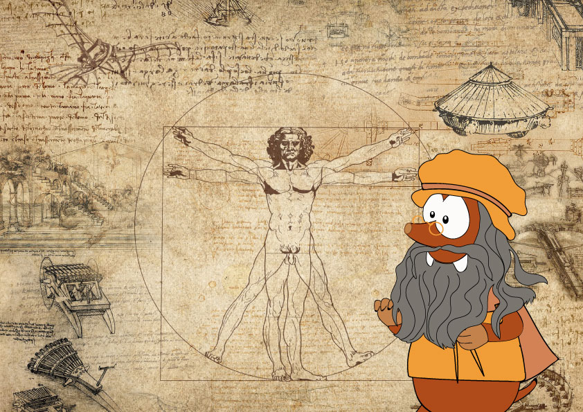 INTERESTING FACTS ABOUT LEONARDO DA VINCI_Tapsy Tours for families with kids