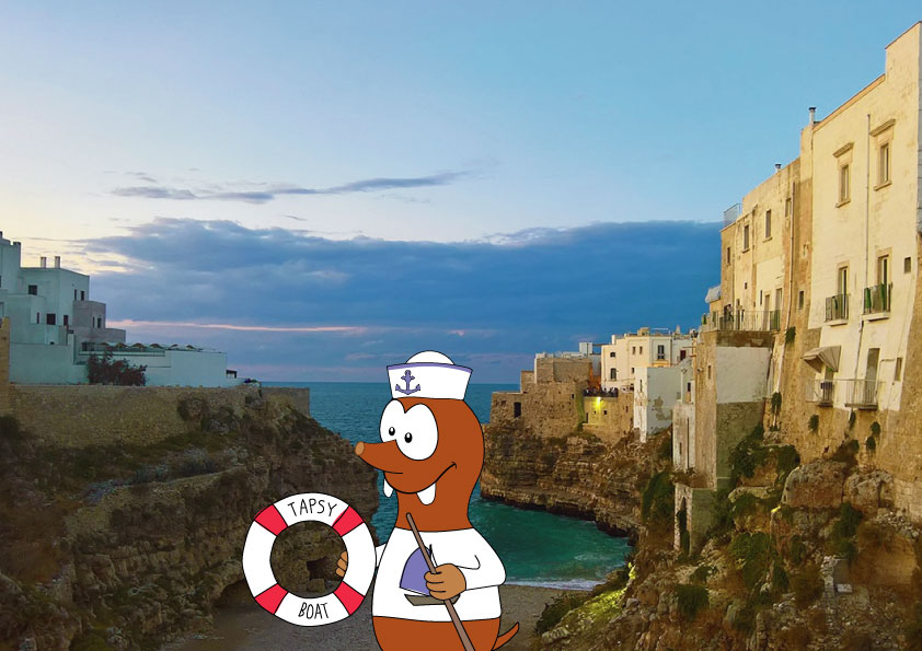 Polignano a mare with kids_best European cities for kids_Tapsy Blog
