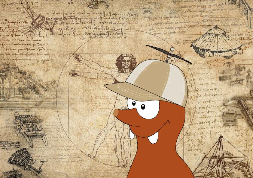 Leonardo Da Vinci in Europe with children_Tapsy Blog