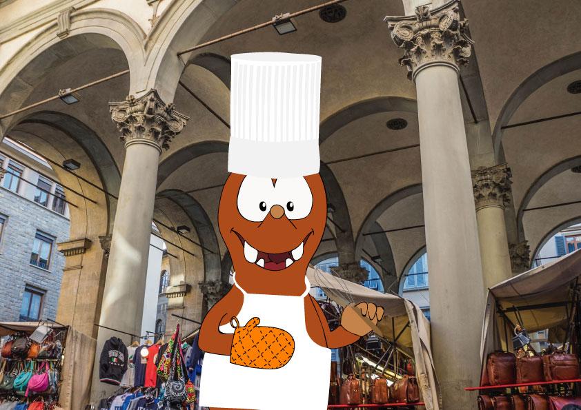 best restaurants in Florence for kids_Mercato centrale_Tapsy Blog