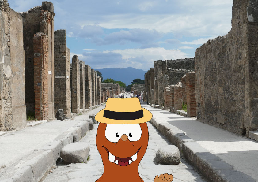 Amalfi coast family holidays_Tapsy tour of Pompeii for families with kids