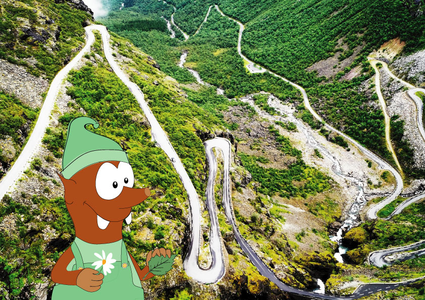 summer in Europe with kids_troll path in Norway