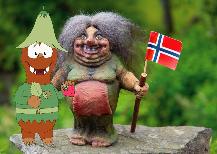 summer in Europe with kids_trolls in Norway