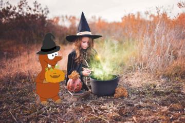 halloween with kids