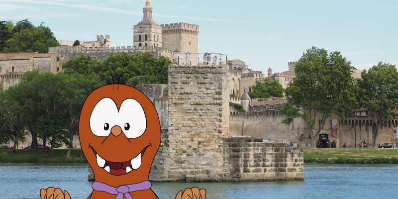 day trips from Marseille with kids-Avignon-Tapsy Blog