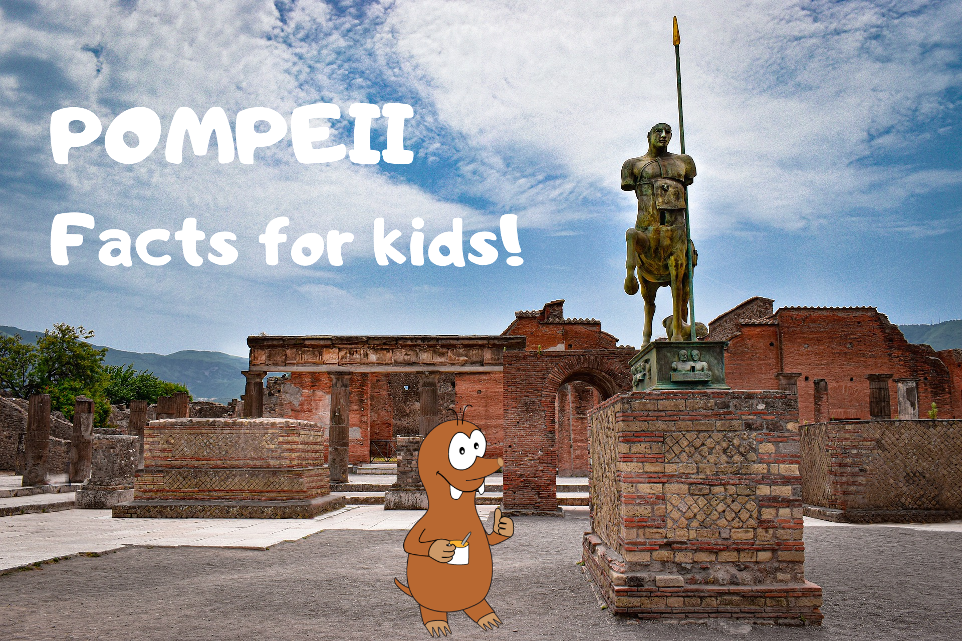facts about pompeii