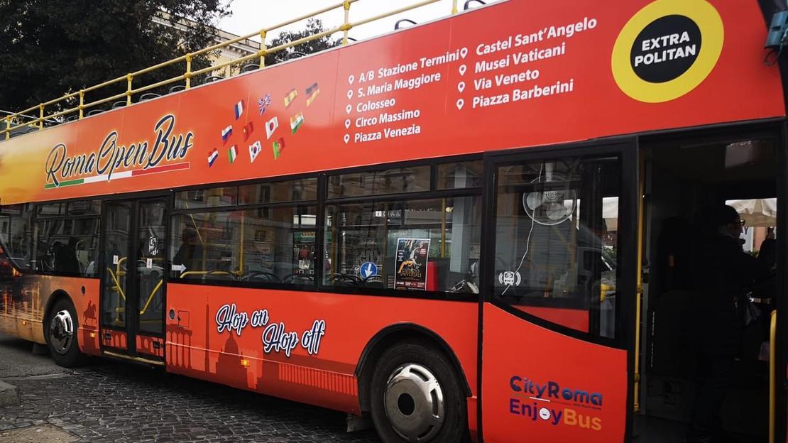 rome open bus